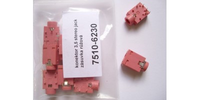 SOUND CONNECTOR PCB 3,5 PINK