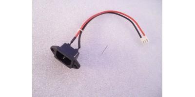 Zás 230V s kabelem pro monitory/ost