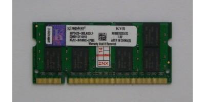 paměť DDR2 2GB RAM 666MHz Kingston pro laptop