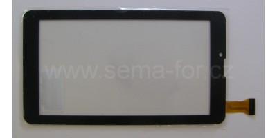 """7"""" dotykové sklo C700247FPVA černé"""