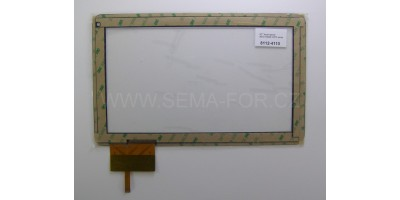"10,1"" dotykové sklo AD-C-10050-1-FPC bílé"