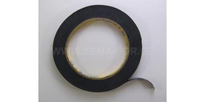 maskovací páska černá 8mm 20m