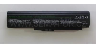 Baterie pro Toshiba Toshiba U300-153 PABAS110, 18V/4,4Ah