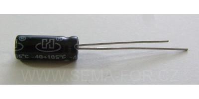 kondenzátor 47µF/35V