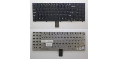 klávesnice Clevo D9 D90 D900 black CZ česká
