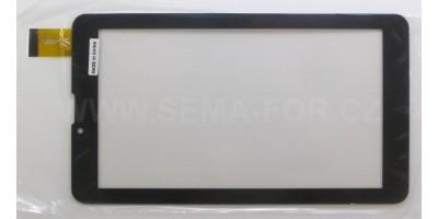 "7"" dotykové sklo HK70DR2299-V01 černé"