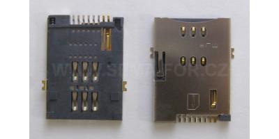 SIMM BASE, 8P, MUP-C760 konektor
