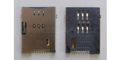 SIMM BASE, 8P, MUP-C750 konektor