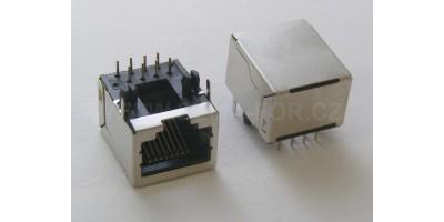 LAN 2 konektor do plošného spoje