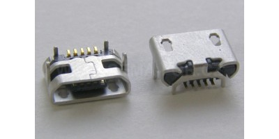 konektor micro USB B 5 pin female 4
