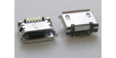 konektor micro USB B 5 pin female 7
