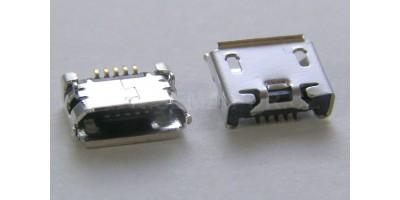 konektor micro USB B 5 pin female 8