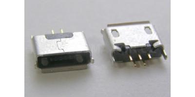 konektor micro USB B 5 pin female 9