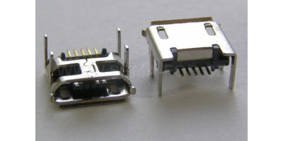 konektor micro USB B 5 pin female 11