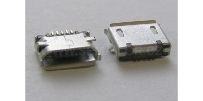 konektor micro USB B 5 pin female 12
