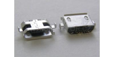 konektor micro USB B 5 pin female 14