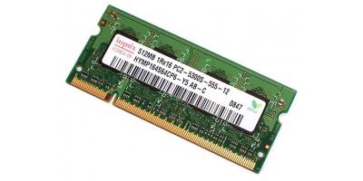 RAM 512MB DDR2 666 sodimm použité