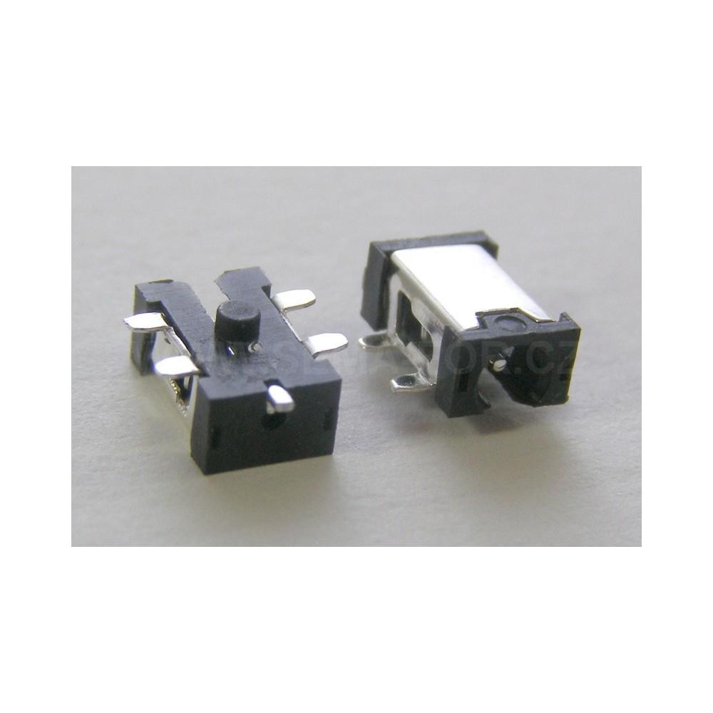 napájecí konektor pro tablet 2,5x0,7 - 02B
