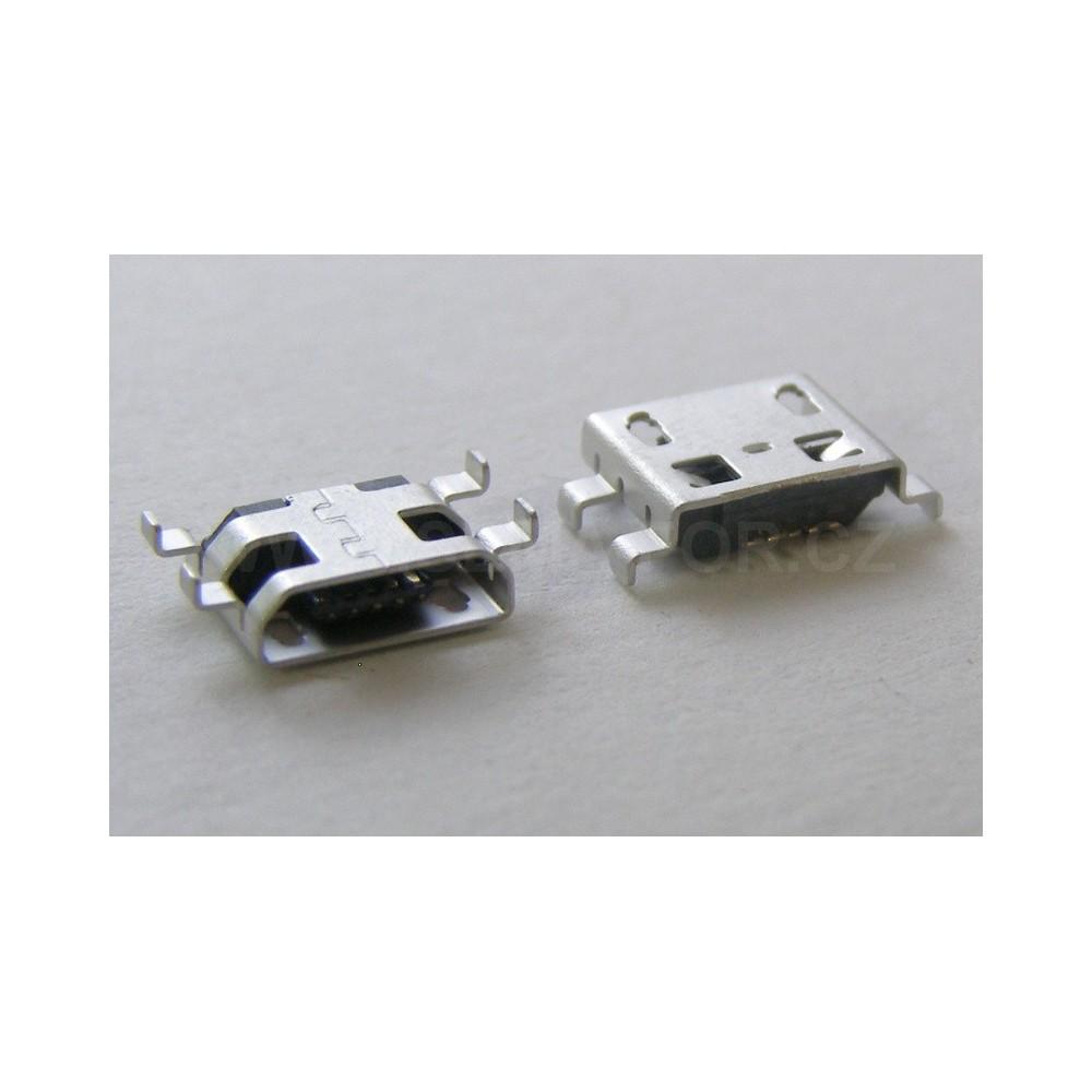 konektor micro USB 5 pin female 13B