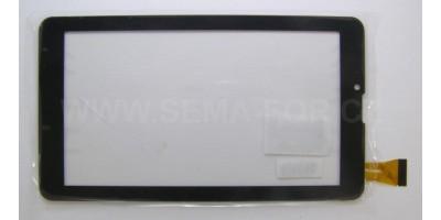 """7"""" dotykové sklo GT706-V6 černé"""
