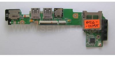 MB  Asus eee 1011PX 1015PX deska portů + PW použitá