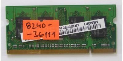 paměť DDR2 1GB RAM 555MHz použité