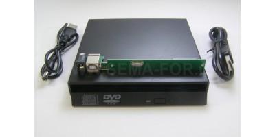 case externí USB to IDE pro DVD pro notebooky