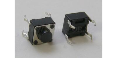 Micro Switch 6*6*5mm pájecí nožky