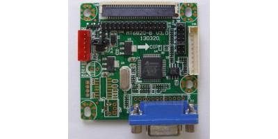universal LCD vga board MT6820-B