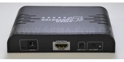 comverter AV+Svid to HDMI