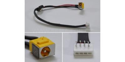 Napájecí konektor s kabelem CON158 - 1.65mm