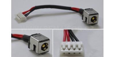 Napájecí konektor s kabelem Asus CON098 - 2,50mm - 90mm