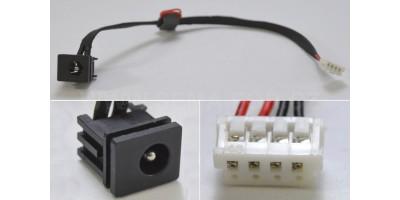 Napájecí konektor Toshiba Satellite C650 s kabelem