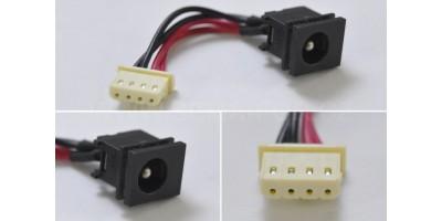 Napájecí konektor Toshiba  Tecra M5-S433 M5-S4331 s kabelem