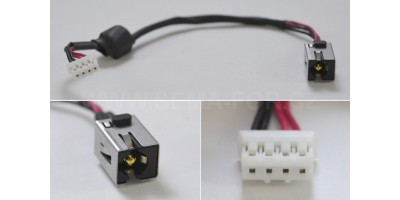 Napájecí konektor s kabelem CON174_3 - 2.5mm