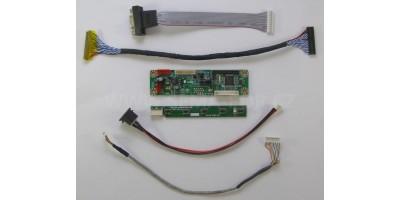 universal LCD vga board MT6820-MD + tlačítka