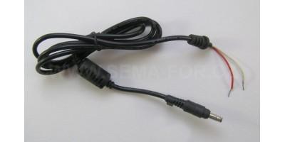napajecí kabel k ntb 4,8x1,7 - drat