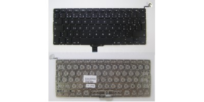 klávesnice Apple Macbook Pro Unibody A1278 MB466 MB467 black CZ - no frame no frame