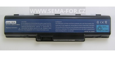 baterie AS09A61 10,8V 5200 mAh pro Acer Aspire, EasyNote, eMachines a Gateway