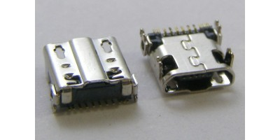 konektor micro USB B 5 pin female 23