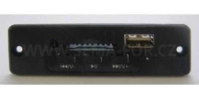 MP3 set 01 black bez kabelů