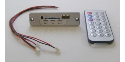 MP3 set 01 silver s ovládáním