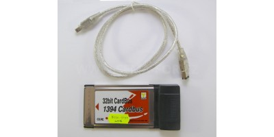 PCMCIA to 1394 card