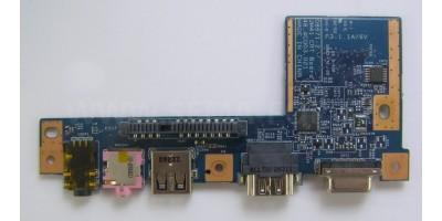 ACER ASPIRE 4810 5810 4410 USB HDMI Audio VGA Board použitá deska