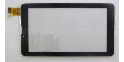 """7"""" dotykové sklo MF-786-070F černé"""
