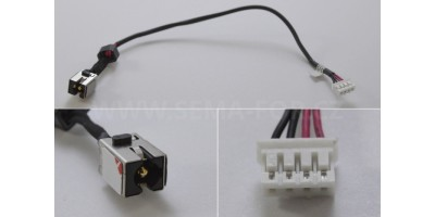 Napájecí konektor s kabelem CON174_3 - 2.5mm DC30100N300