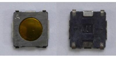 SMD Switch 5*5*1mm - pájecí plošky pod tlačítkem