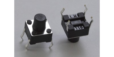 Micro Switch 7x6x4mm pájecí nožky