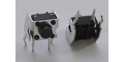 Micro Switch 6*6*5mm pájecí nožky tlač.zboku