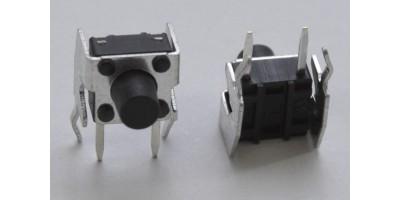 Micro Switch 6*6*7mm pájecí nožky tlač.zboku